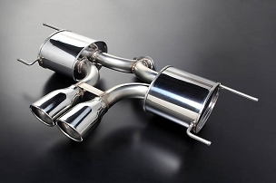 Autoexe Premium Tail Muffler (Center Exhaust) - Mazda CX-5