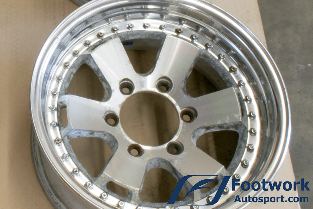 Used Work Vintage Wheels Jwl T Large Pcd 4x4 Wheel Set 235