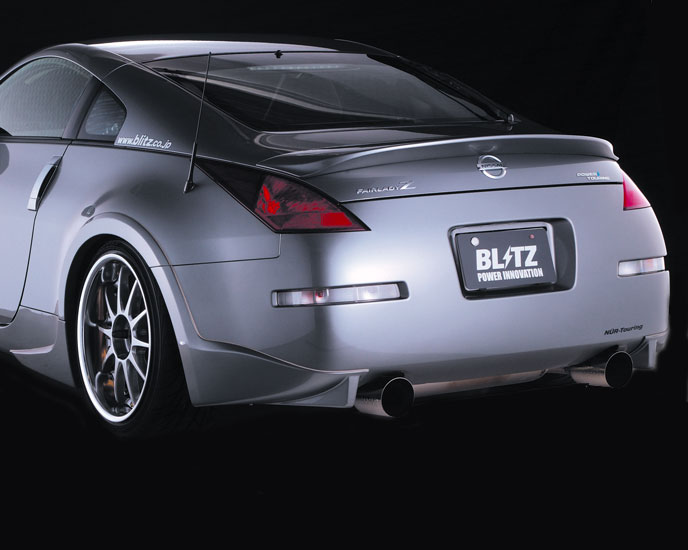 Blitz Aero Speed Rear Wing FRP - Nissan 350Z 2003 - 2007