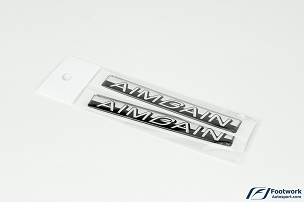 AimGain Fender Soft Emblem Replacement Pair