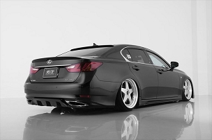 Aimgain Lexus GS450H · 350 · 250 · 300H VIP 2012 - 2015 - Full kit (3pcs W/ Rear Under Diffuser)