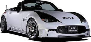Blitz Aero Speed Front bumper Daylight Set FRP - Mazda Miata ND 2016 - 2021