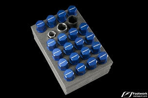WedsSport Lug Bolt Set (M14 X 1.50) Blue