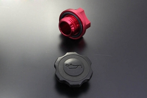 AutoExe Aluminum Oil Filler Cap - Mazda (Screw Type)