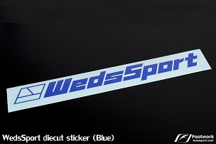 WedsSport Die Cut Sticker