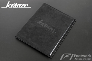 Weds Kranze JDM Documents/iPad/Tablet Holder In Micro Suede
