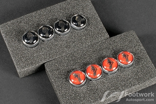 Super Star Accessories - 14mm Roulette Air Valve Cap Set