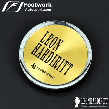 Super Star Leon Hardiritt Metal Center Cap