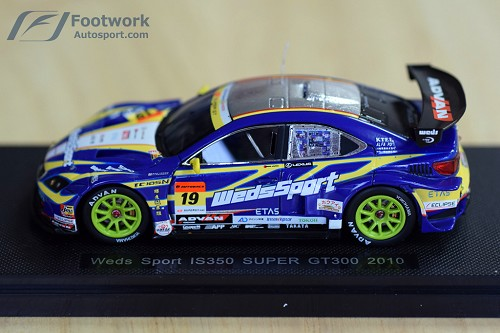 WedsSport/Bandoh 2010 Lexus IS350 Super GT Model Car