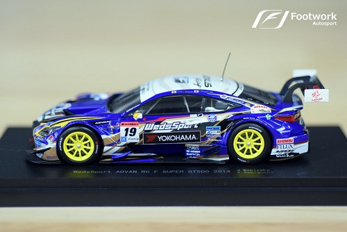 WedsSport/Bandoh Lexus RC-F Super GT Model Car